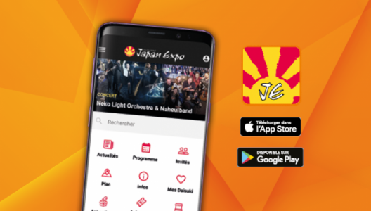 Japan Expo's new app is available! - Japan Expo Paris